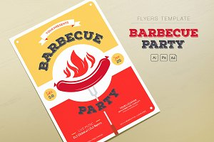 Barbecue Party Flyers