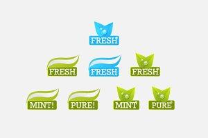 Mint labels