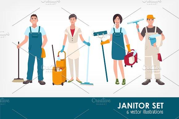 Janitors set