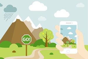 Smartphone Go Location Template