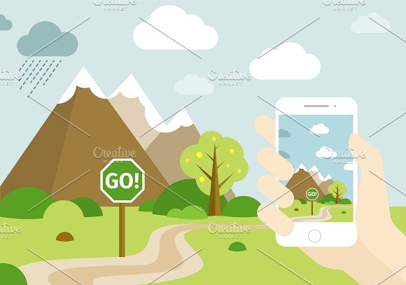 Smartphone Go Location Template