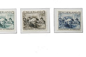 Rembrandt postage stamps of 1930