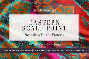 Eastern Scarf | Vector Pattern