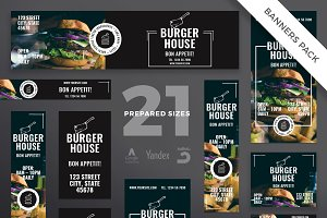 Banners Pack | Burger House
