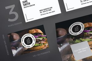 Business Cards | Burger House