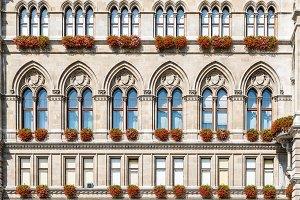 Rathaus building in Vienna
