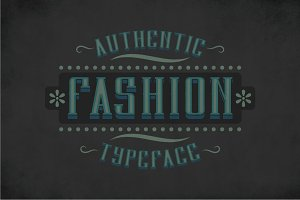 Fashion Vintage Label Typeface