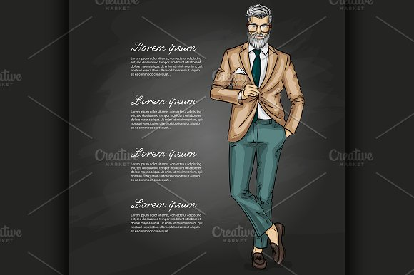 Vector man model