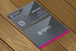 CT003 Simple Corporate Business card
