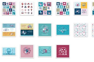 Bundle of 16 artificial intelligence