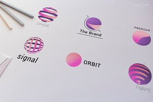 Sphere Logo Templates Set