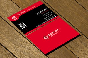 CT004 Corporate business card