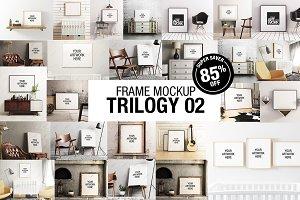 Frame Mockup Trilogy Bundle 02