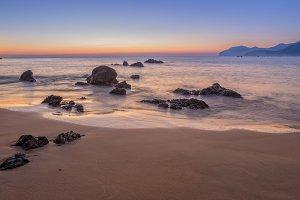 The beach in Noja