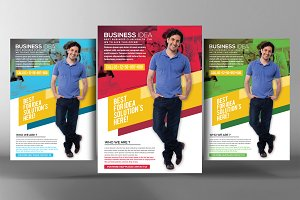 Clean & Creative Business Flyer