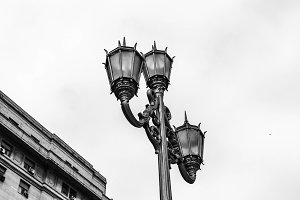 Vintage Lamppost Street