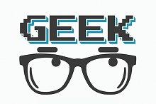 Geek t-shirt/poster design