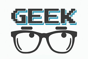Geek t-shirt/poster design