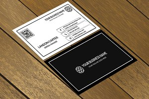 CT006 Clean & Minimal Business card