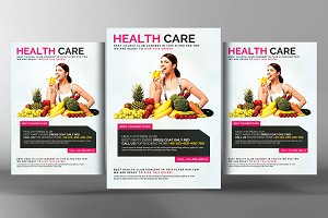 Healthy Life  Diet Flyer