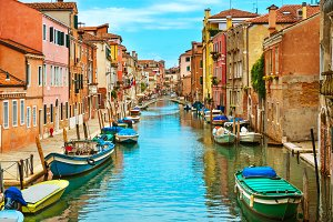 Venice and Grand Canal