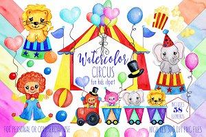56 imágenes prediseñadas de circo arte clip de circo | Etsy | Clip art,  Clown, Circus theme