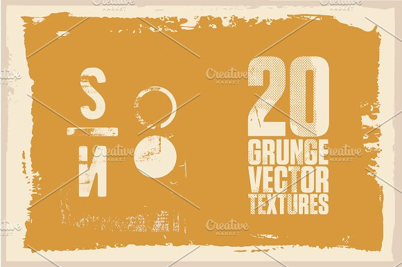 Southern Northern Vector Grunge Pack