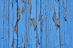 Blue wood texture.