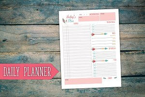 Daily Planner - Boho Style
