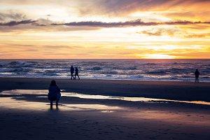 Colorful Coastal Sunset