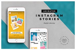 ANIMATED Playful Instagram Stories