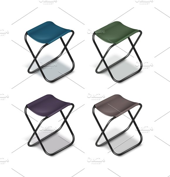 Picnic folding chairs
