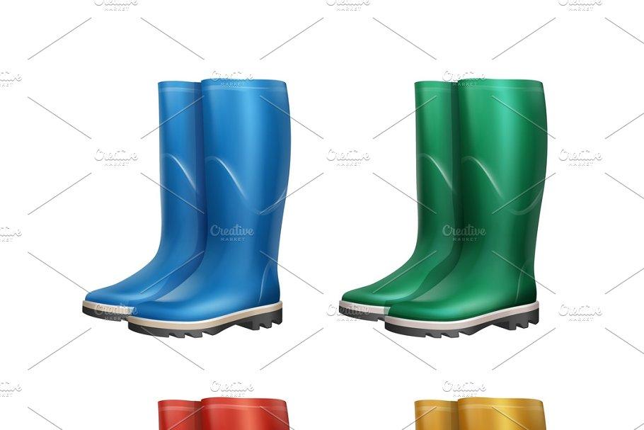 Set of dubber boots