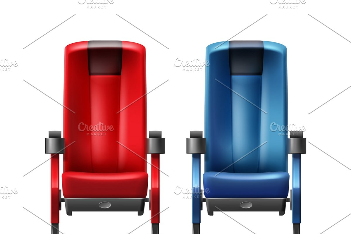 Two cinema seats