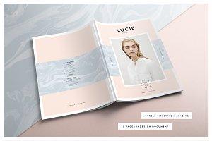 LUCIE Marble Lifestyle Magazine