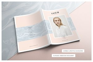 LUCIE Marble Lifestyle Magazine