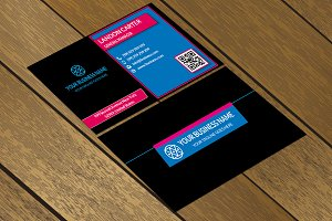 CT012 Corporate business card