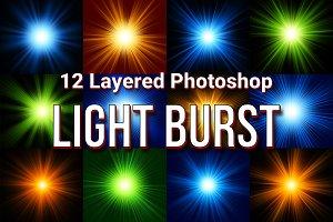 12 Photoshop Light Burst