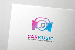 Car Music Logo