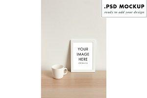PSD layers mockup frame