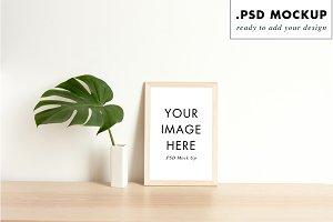 Feminine layered PSD frame