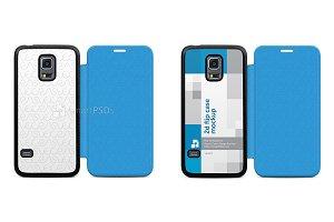 Galaxy S5 Mini PU Flip Mobile Case
