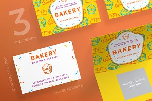 Business Cards | Bakery