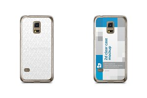 Galaxy S5 Mini 2d Clear Mobile Case