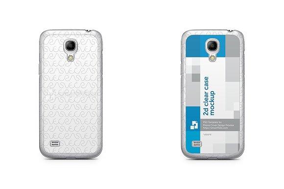 Galaxy S4 Mini 2d Clear Mobile Case
