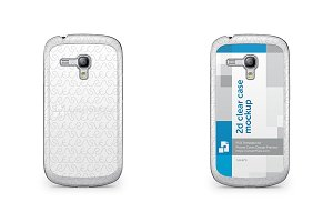 Galaxy S3 Mini 2d Clear Mobile Case