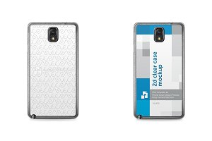 Galaxy Note 3 2d Clear Mobile Case