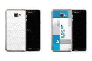 Galaxy A5 2016 2d Clear Mobile Case