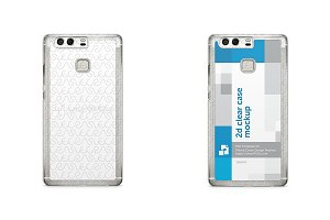 Huawei P9 2d Clear Mobile Case