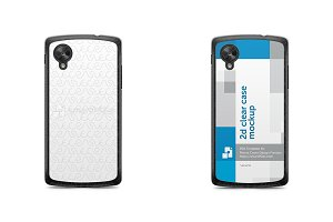 Google Nexus 5 2d Clear Mobile Case